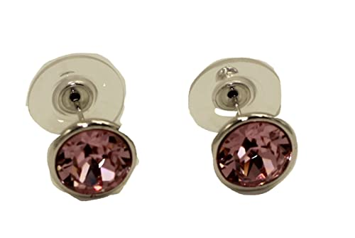 eafa9c49eb20b7 Image Unavailable. Image not available for. Color: Swarovski Elements Light Pink  Bella Earrings ...
