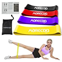 Deals on Morecoo Resistance Loop Bands 4-Piece