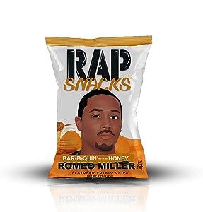 Rap Snacks Honey BBQ Chips (Honey Barbeque, 2.75 oz)