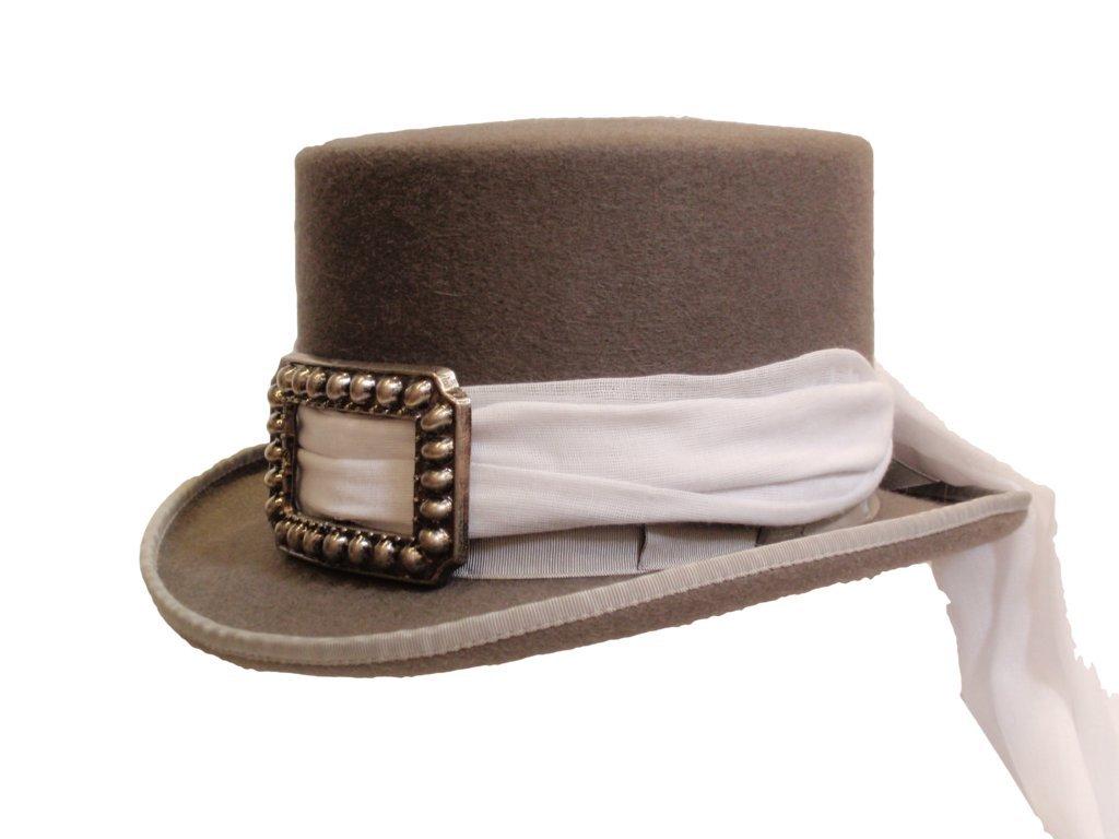 D Bar J Hat Brand, Female, Deadwood, Size 7 1/8, Granite
