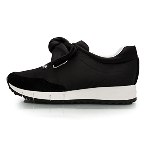 Liu Jo Jeans - Zapatillas de Satén Para Mujer Negro MirandaNero Negro Size: 40 EU: Amazon.es: Zapatos y complementos