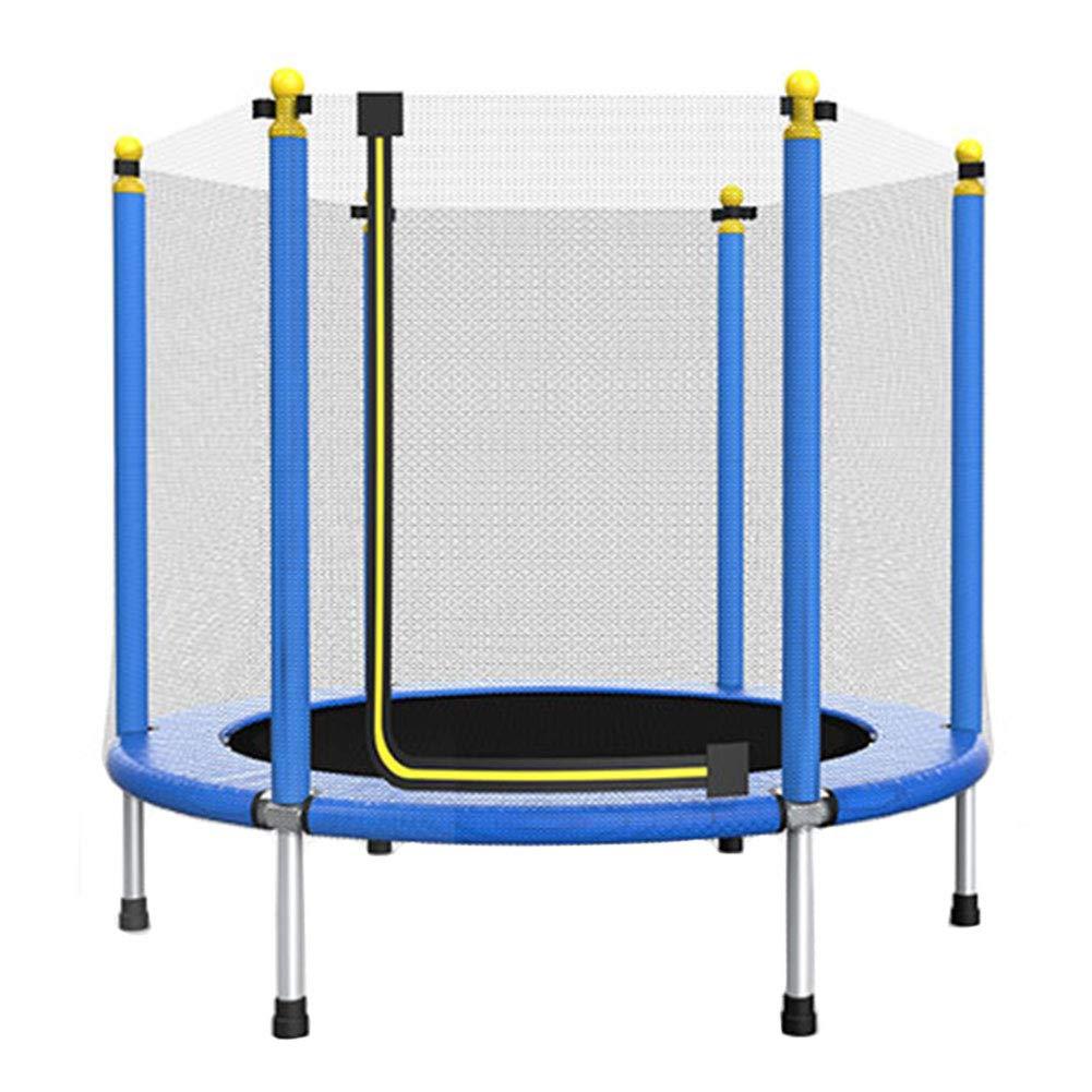 Trampolin, Indoor/Outdoor - Trampolin mit Schutzgitter und Sicherheits - Sprungmattenüberzug Geburtstagsgeschenke für Kinder, für Jungen und Mädchen