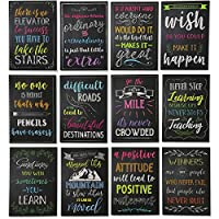 Paper Junkie Inspirational Notepads Small Pocket Notebook Journal (12 Pack, 3.5 x 5 in)