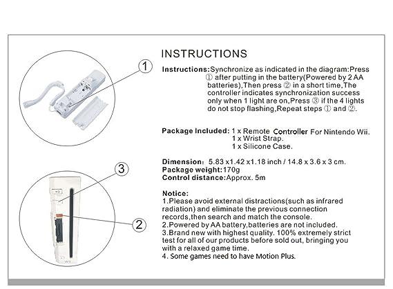 Amazon Sibiono Remote Controller For Nintendo Wii No Motion