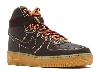 Amazon.com | Nike - Grade School AIR Force 1 HIGH (Baroque ...