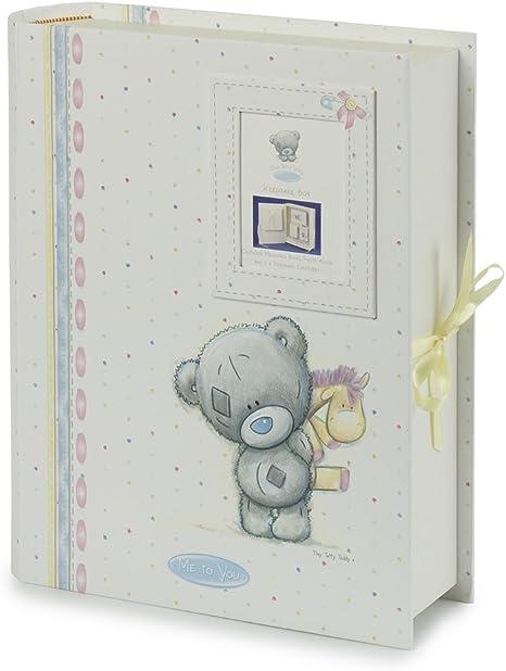 Me To You Tiny Tatty Teddy - Caja para recuerdos, diseño de osito: Amazon.es: Bebé