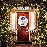 Gnome Door Hanger, Welcome Sign Front Door Bedroom