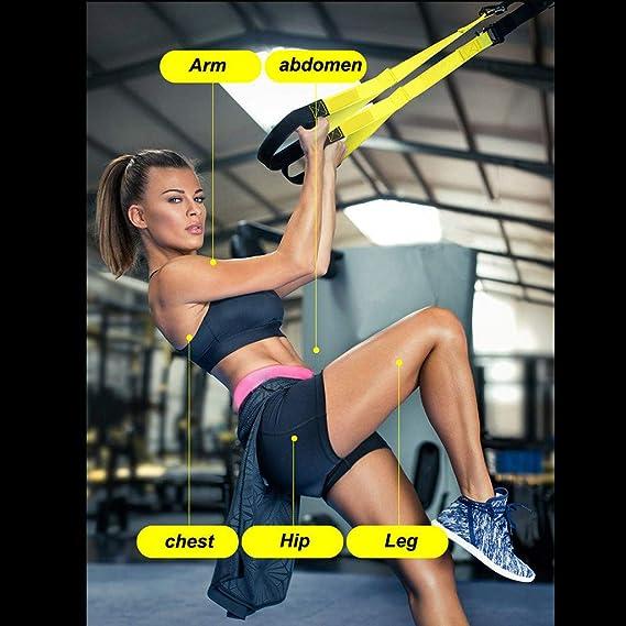 TianranRT TRX Set Yoga Fitness Bandas de Resistencia Tirando ...