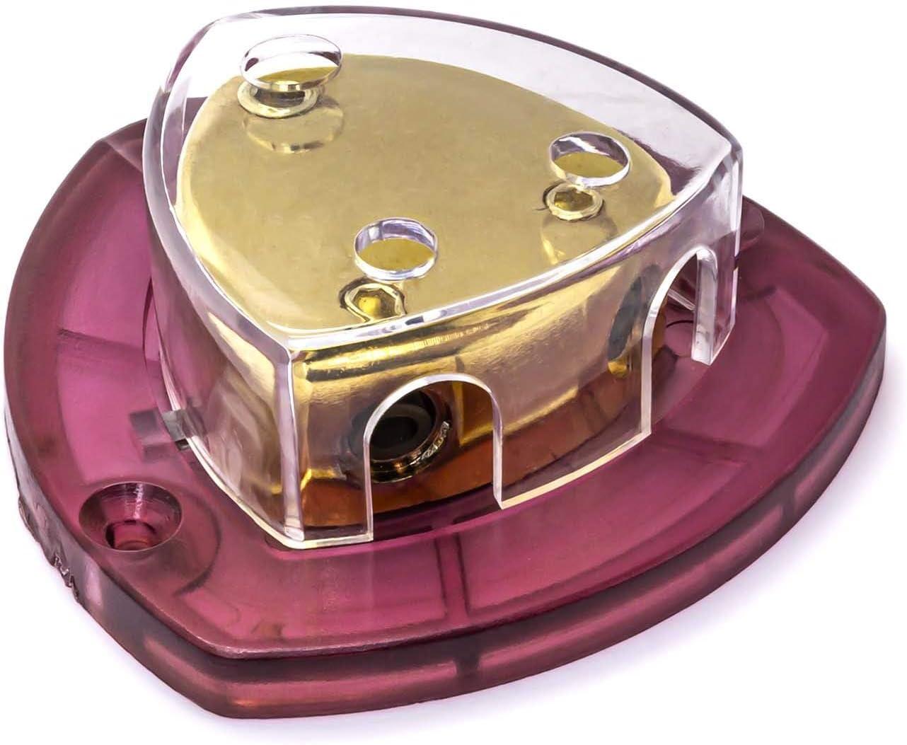 Strom Kabel Verteiler Block Auto Kfz Pkw 12v Verstärker 1x 25mm 2x 16mm 1 Zu 2 Auto