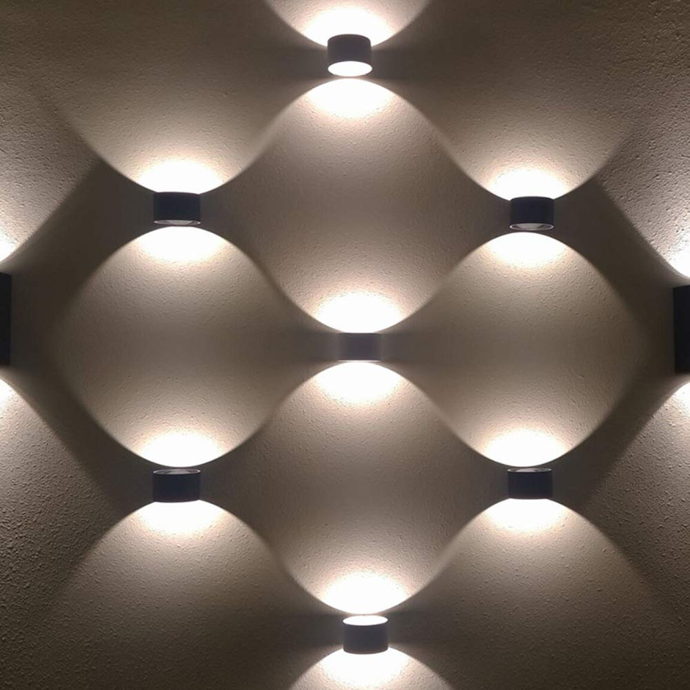 Amazon.com: Lámpara de pared LED de 7 W, redonda, de ...