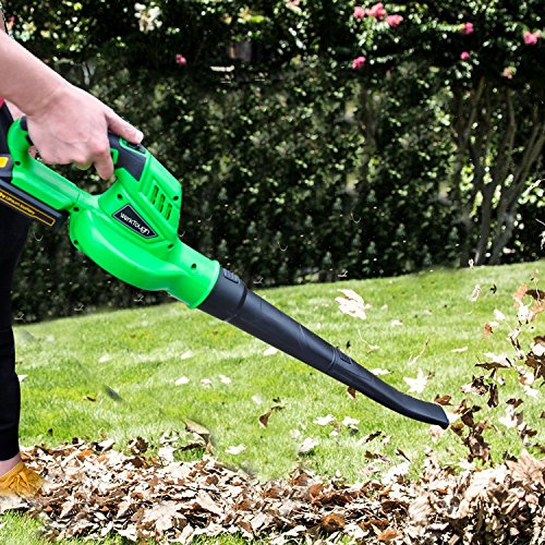 Werktough B001 Outdoor Tool 20V Li-ion Cordless Leaf Blower Sweeper 2.0 AH Battery Charger Included by Werktough (Image #6)