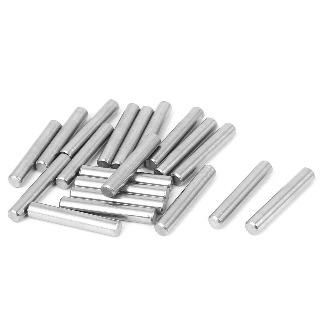sourcingmap M5x30mm Stainless Steel Parallel Dowel Pins Fastener Elements 20pcs a16030800ux1634
