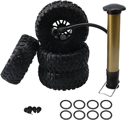 Amazon.com: Mxfans - 4 neumáticos inflables de goma negra y ...