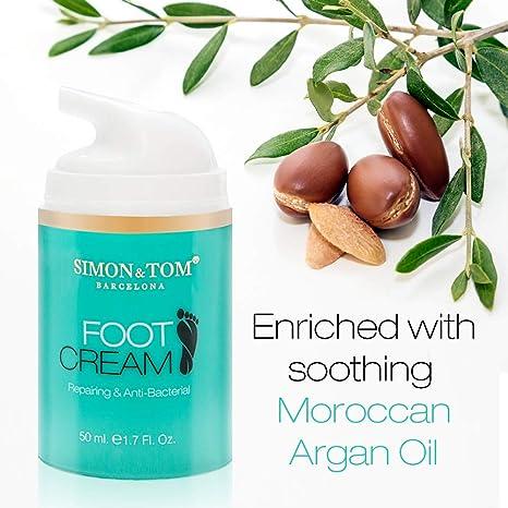 Simon & Tom – Crema para pies – 50ML – Hidrata y regenera la piel seca