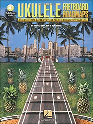 fretboard roadmaps ukulele bk cd