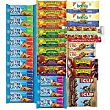 Healthy Snacks, Variety Pack, Breakfast Bars, Including Nature Valley, Quaker, Goodness Knows, Clif, Nutri Grain and Fiber One