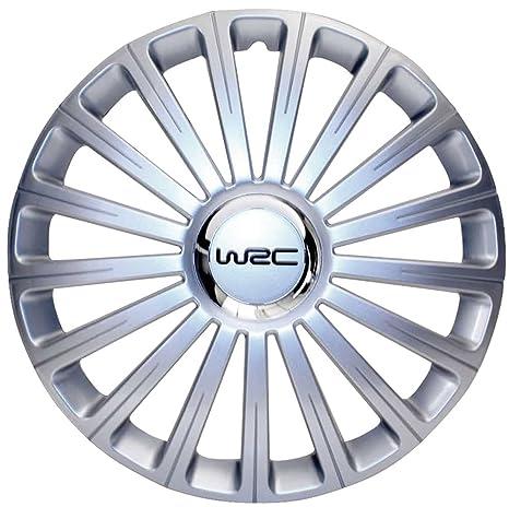 "WRC caja 4 Tapacubos Gris N ° 3 13"" ..."