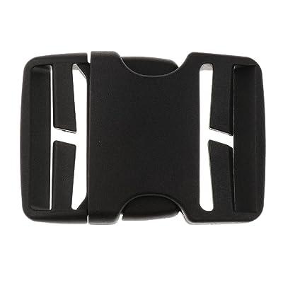 Homyl Sangle Boucle Plastique Nylon Webbing Boucle À Déclenchement Latéral Sport Accessoire