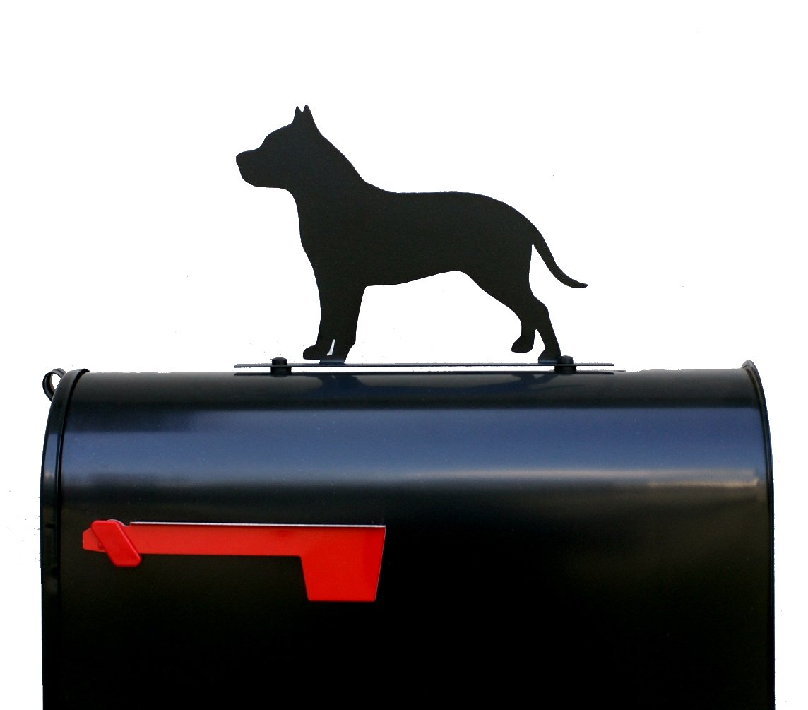 American Pit Bull Terrier Dog Mailbox Topper/Pitbull