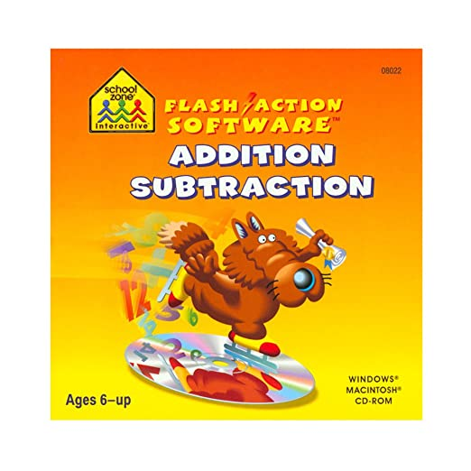 Amazon.com: SCHOOL ZONE Flash Action -- Addition/Subtraction ...