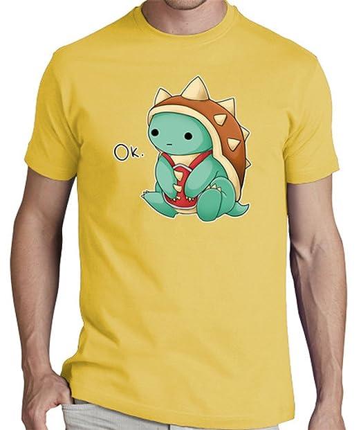 latostadora Camiseta Rammus - League of Legends - Camiseta Hombre clásica, Amarillo Mostaza Talla S: Amazon.es: Ropa y accesorios