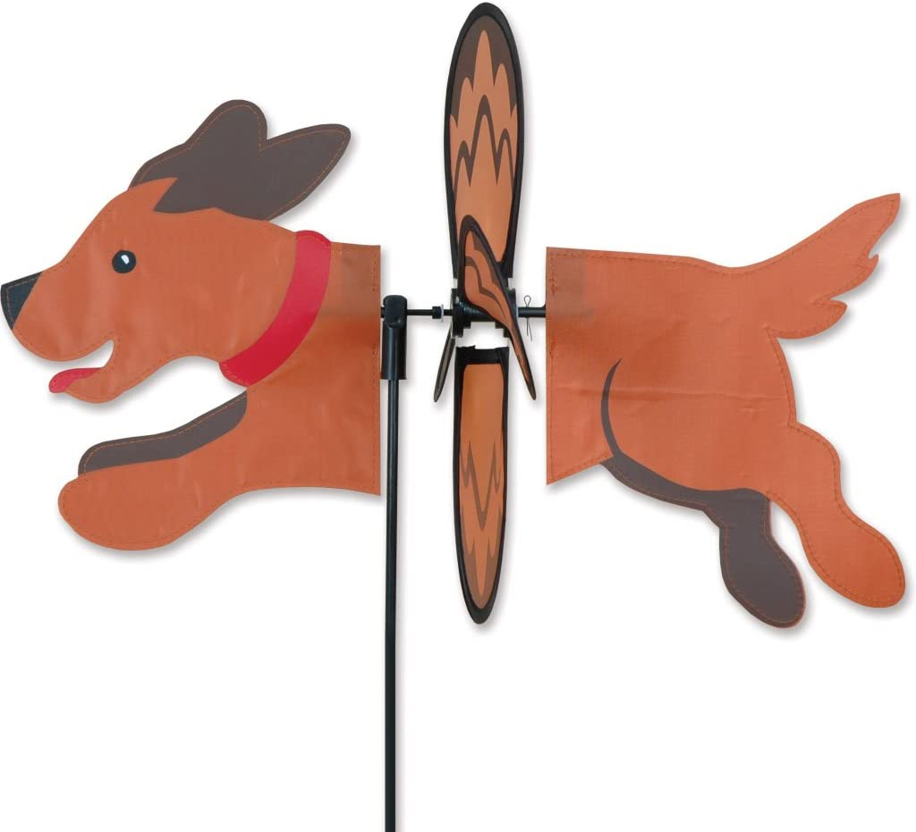 Day Of The Dead Dog Wind Spinner yard Stake Premier Petite Windspinner