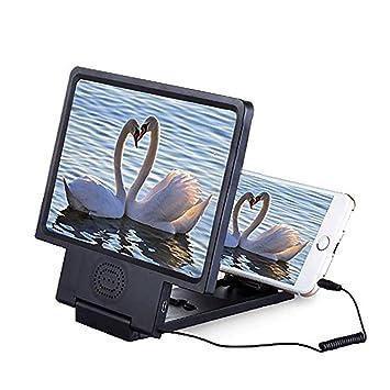 AYQ 3X 8.5 Pulgadas Amplificador de Pantalla de Teléfono Celular, HD Protección de Ojos Amplificador