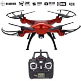 SYMA X5SC Drone with HD Camera 2.0MP 2.4Ghz 4CH 6-Axis Gyro Headless RC Quadcopter
