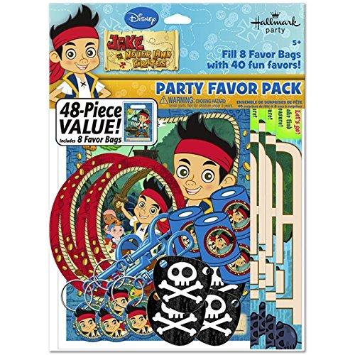 Hallmark Jake & The Never Land Pirates 48pc Favor Kit (1ct)