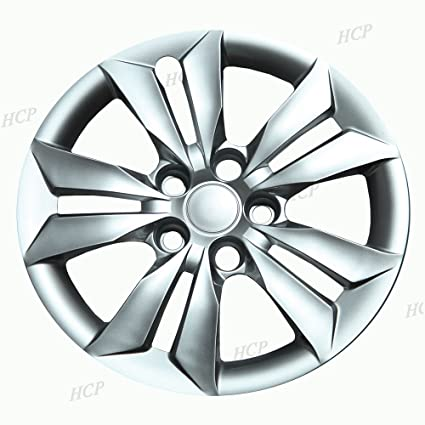 Amazon Com Chrome 16 Bolt On Hub Cap Wheel Covers For Hyundai