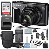 Canon PowerShot SX720 HS Digital Camera 32GB SDHC Class 10, Travel Charger, Cleaning Pen, Carrying Case, Along with a Deluxe Bundle