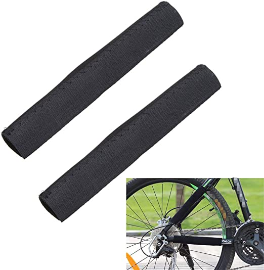 LnLyin - Protector de Cadena para Bicicleta, para Deportes al Aire Libre, Bicicleta de montaña, chainstay: Amazon.es: Hogar