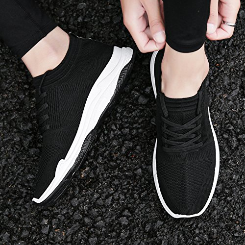 Plein Randonnée Chaussures Sport Course Confortable Noir Léger QLVY Casual air Chaussures en Chaussures Hommes qppvA