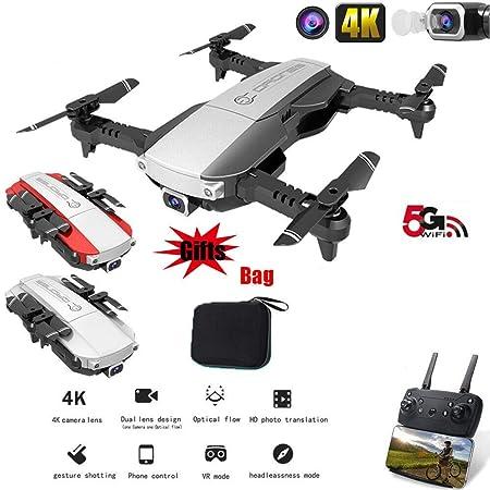 MeterMall Drone x Pro 5G Selfie WiFi con cámara Dual 4K HD RC ...