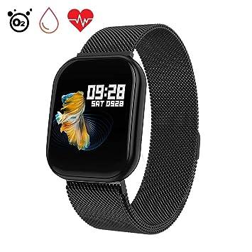 Smartwatch con Pulsómetros Actividad, Letopro Fitness Tracker IP68 ...