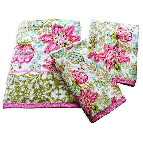 Dena 047596038369 Ikat Printed Fingertip Towel