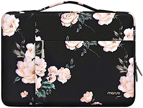 Marble Pattern Carrying Briefcase Sleeve Case MOSISO Laptop Shoulder Bag Compatible with MacBook Pro 16 inch A2141 Pink 15 15.4 15.6 inch Dell Lenovo HP Asus Acer Samsung Sony Chromebook