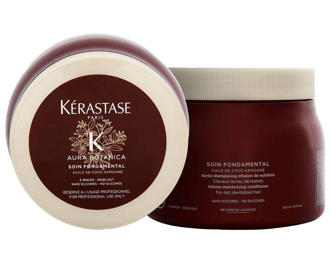 Kerastase Aura Botanica Soin Fondamental Intense Moisturizing Conditioner for Dull Devitalized Hair, 16.9 Ounce AFB International E2124800