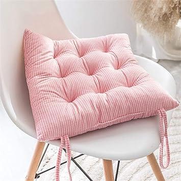 Amazon.com: LZYD - Cojines gruesos de felpa para silla de ...