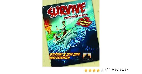 Survive Dolphins & Dive Dice Mini Expansion: Amazon.es: Juguetes y juegos