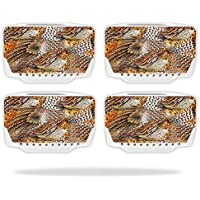 Skin For Blade Chroma Drone Battery (4 pack) – Pheasant Feathers | MightySkins Protective, Durable, and Unique Vinyl Decal wrap cover | Easy To Apply, Remove, and Change Styles | Made in the USA