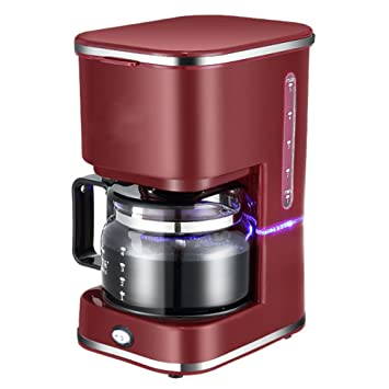 LJSHU Molinillo De Café del Hogar Tipo De Goteoautomaticinsulated Tea Maker Coffee Machine,Red: Amazon.es: Deportes y aire libre