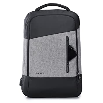 Amazon.com: JSVER Water Resistant Business Laptop Backpack with ...