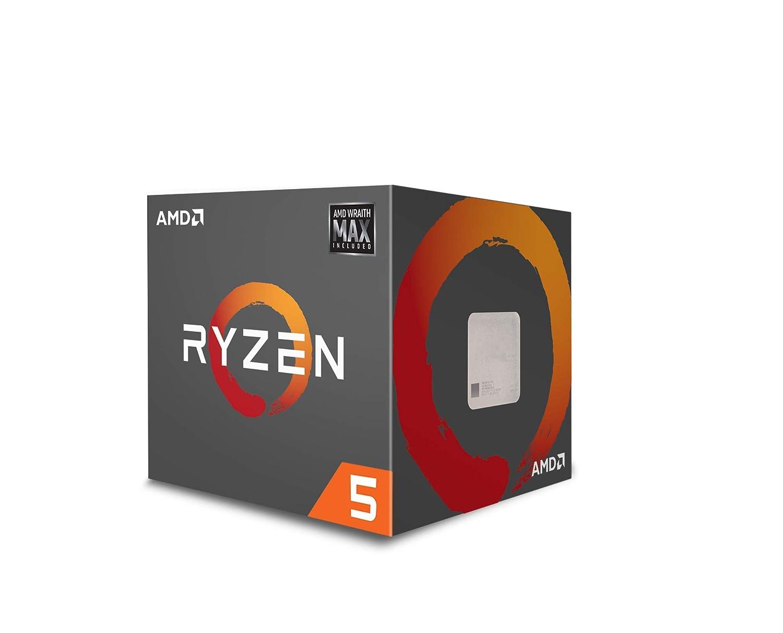 AMD Ryzen 5 2600 Processor with Wraith Stealth Cooler YD2600BBAFBOX