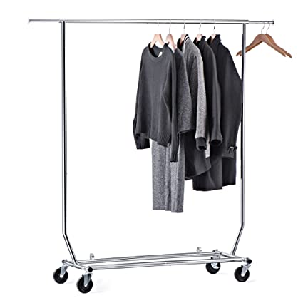 House Day Portable Clothes Rack, Portable Closet, Rolling Clothes Rack,  Foldable Clothes Stand