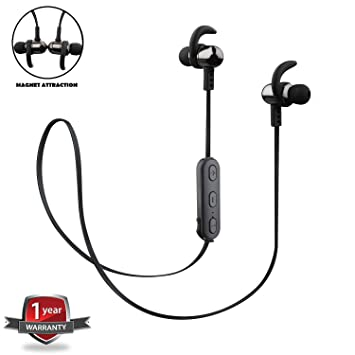 Wayona Reverb Y9 Stereo Wireless Bluetooth Earphones  Black  Mobile Phone Bluetooth Headsets