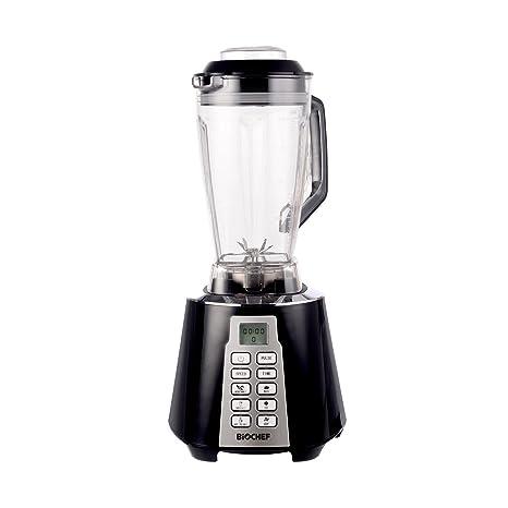 Bio Chef Nova – Batidora de Vaso | Blender | Batidora Americana de Vaso | 1600W | 28.000RPM | BPA Free | 6 programas (Negro)