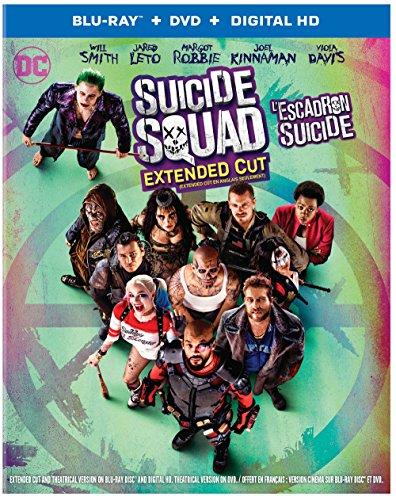 Suicide Squad [Blu-Ray + DVD + UV] (Bilingual)