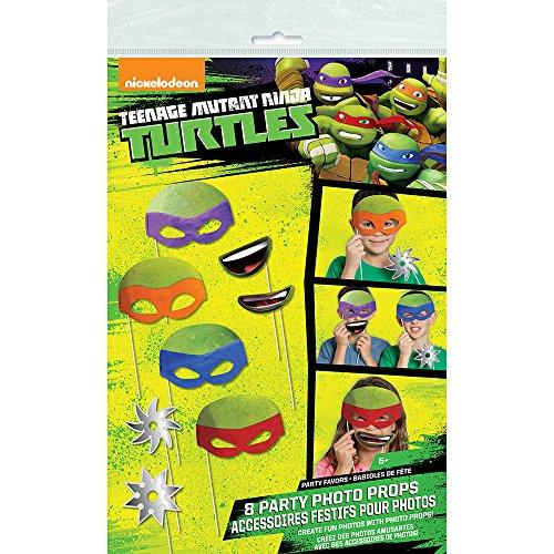 Easy Ninja Costume Ideas (Teenage Mutant Ninja Turtles Photo Booth Props, 8pc)