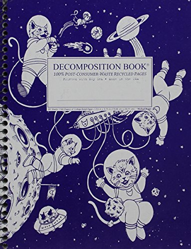 - Kittens in Space Coilbound Decomposition Book Ruled